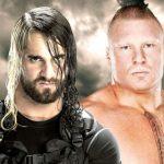 Seth Rollins e Brock Lesnar