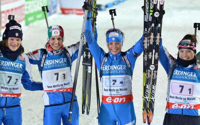 Biathlon Mondiali 2015, Italia terza nella Staffetta Femminile