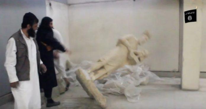 Statue distrutte dall'ISIS false, la conferma del direttore del museo