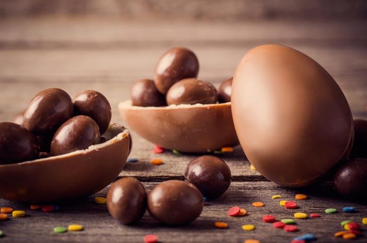 Uova di Pasqua cioccolato