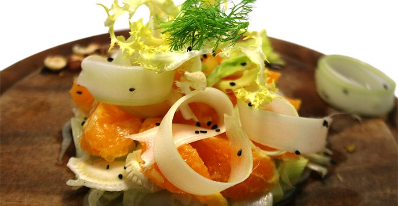 Insalata di arance alla siciliana: La Ricetta