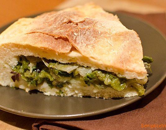 Pizza di Scarole alla napoletana: La Ricetta