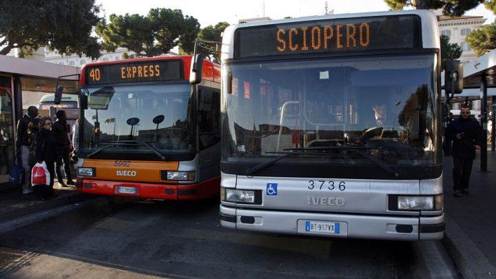 Sciopero 15 maggio 2015, fermo il trasporto pubblico locale