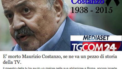 Photo of Maurizio Costanzo Morto? L'Ultima Bufala del Web