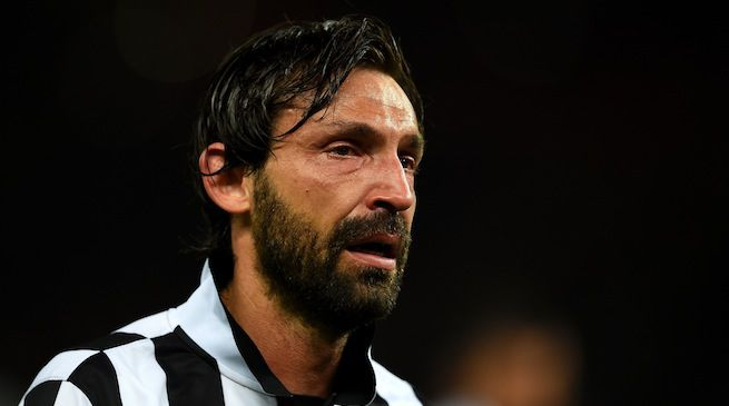 Andrea Pirlo in lacrime dopo Juventus-Barcellona (Video)