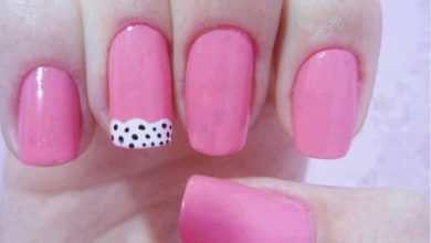Photo of Nail Art Semplici, Unghie Rosa e Pois