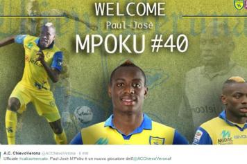 Paul Jose M'Poku Chievo