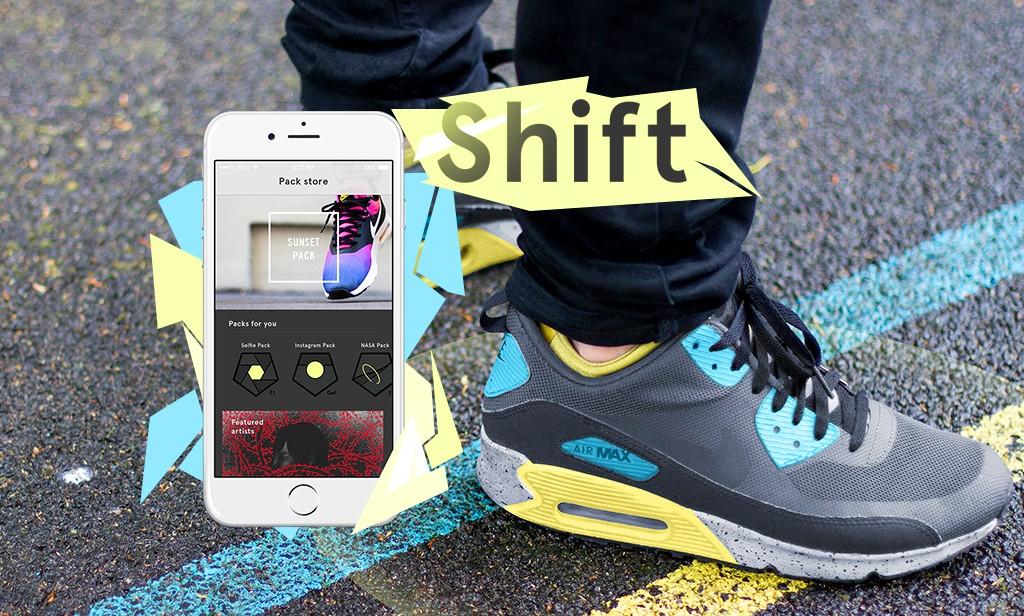 Shift Sneakers, ecco le Scarpe che cambiano colore con un'App