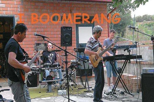 I Boomerang in concerto a Roccelletta di Borgia: la scaletta