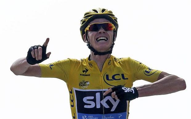 Chris Froome vince il Tour de France 2015