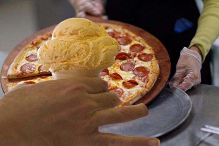 Gelati ai gusti strani, c'è quello alla Pizza Napoletana