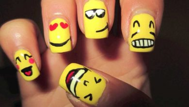 Photo of Nail Art Semplici: Emoticon Innamorate