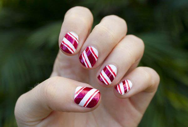 Nail art Facili: Unghie a strisce colorate