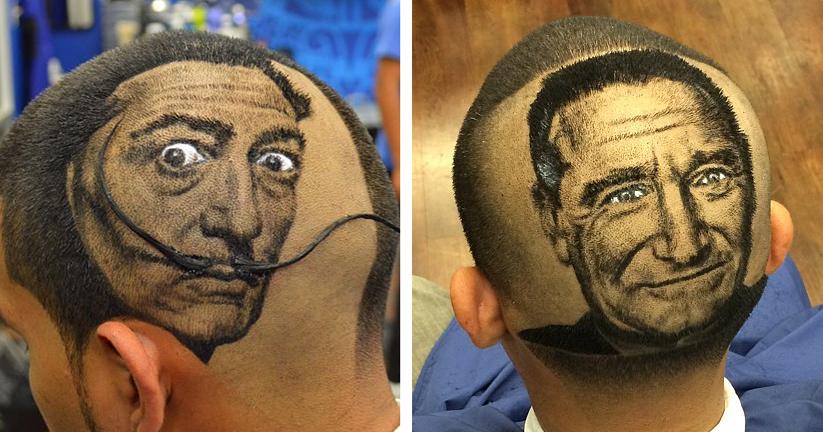 Roberto Perez parrucchiere: Capelli opera d'arte da Rob the Original