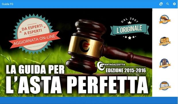 Guida all'Asta Perfetta Fantagazzetta per il Fantacalcio 2015-2016