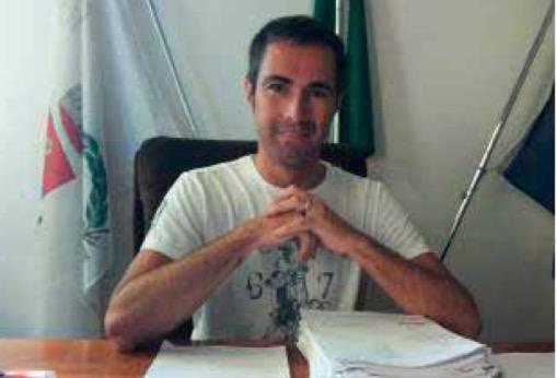 Il sindaco di Spino d'Adda (CR), Paolo Riccaboni