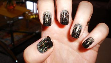 Photo of Nail Art Facili: Fantasia Rock sulle Unghie