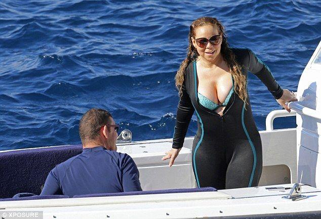 Mariah Carey a Capri: Vacanze sull'isola per la cantante