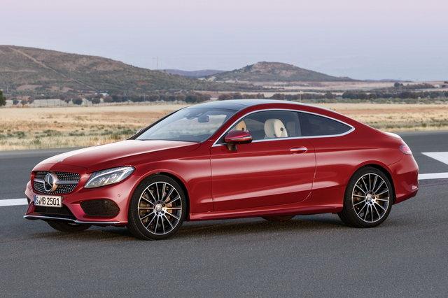 Nuova Mercedes Classe C Coupè: a settembre la presentazione