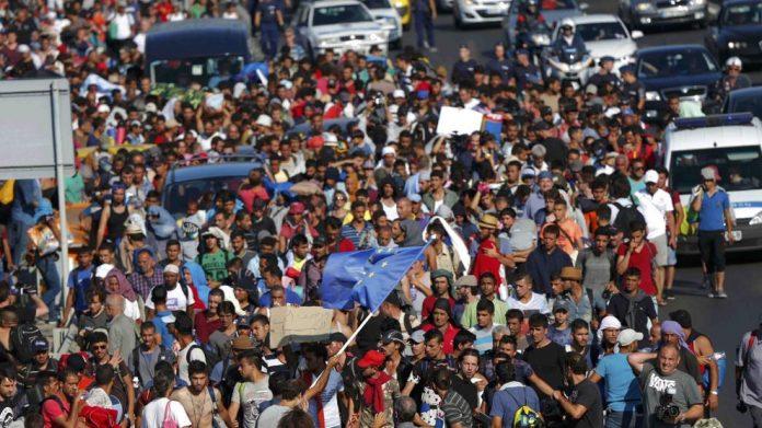 Emergenza migranti: Migliaia di persone in transito dalla Macedonia alla Serbia