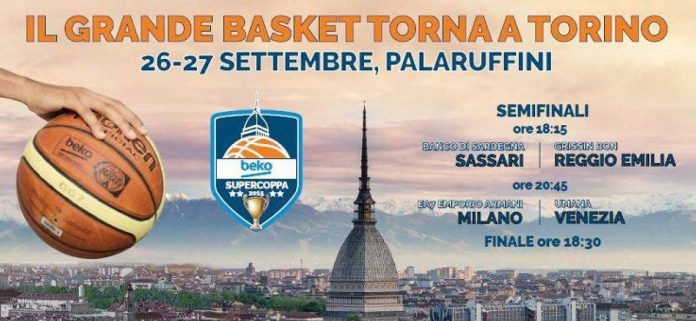 Sassari-Reggio Emilia Live: Diretta Tv e Streaming Gratis (Supercoppa 2015)