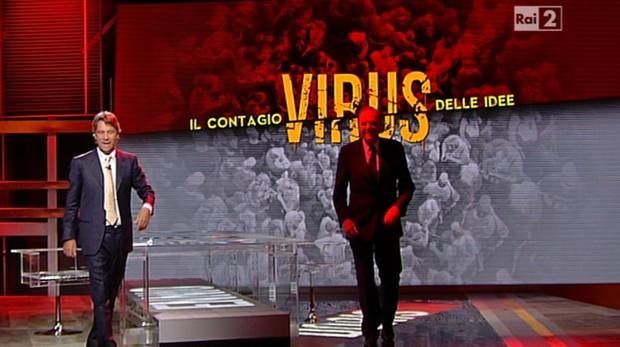 Virus il contaggio delle idee: su Rai 2 al via la nuova stagione con Nicola Porro