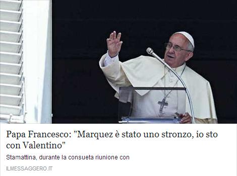 Papa Francesco Marquez Rossi