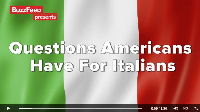 (Video) Le Domande che gli Americani farebbero agli Italiani