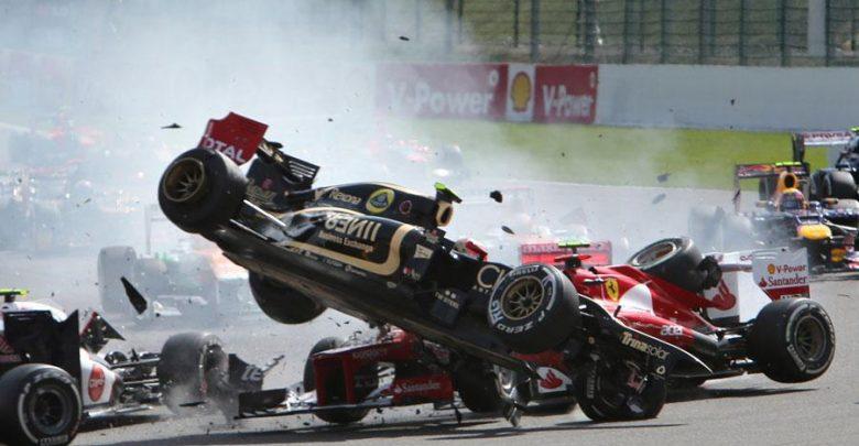 Incidente Romain Grosjean Gp Russia 2015 Formula 1 (Video)