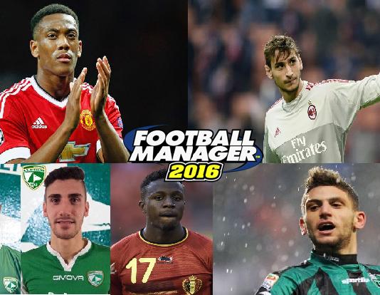 Giovani Talenti Football Manager 2016: Portieri, Difensori, Centrocampisti, Attaccanti
