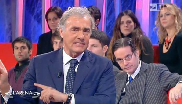 Lo sfogo di Giletti in diretta Tv dopo le minacce di morte