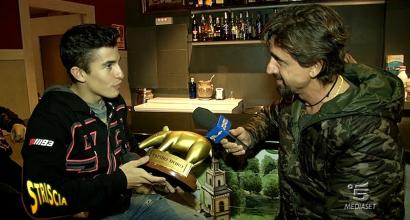 Tapiro d'Oro a Marquez (Video Striscia la Notizia)