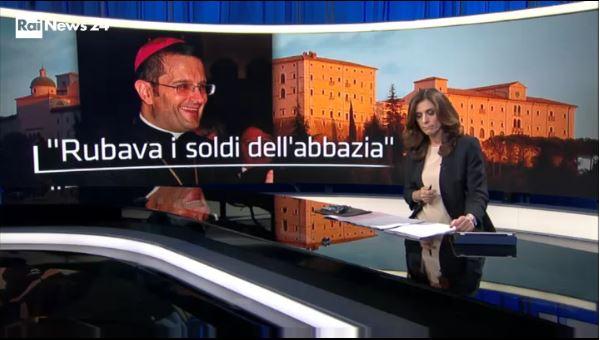 Indagato l'ex abate di Montecassino: sottratti fondi dell'8 per mille