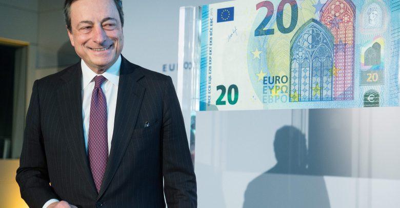 Nuova Banconota 20 euro dal 25 novembre
