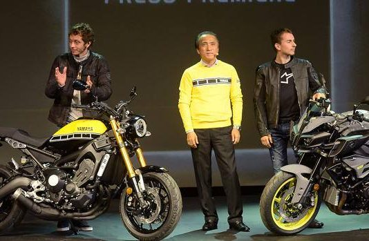 Rossi-Lorenzo, allo Yamaha Next Level di Milano si ignorano