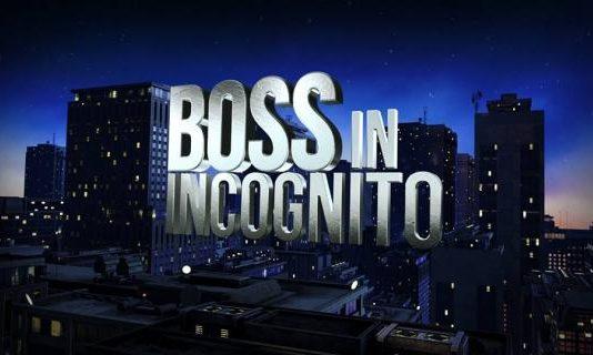 Boss In Incognito 2015 Streaming: Video Replica Prima Puntata su Rai.tv