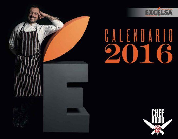 Calendario 2016 Chef Rubio (Foto)