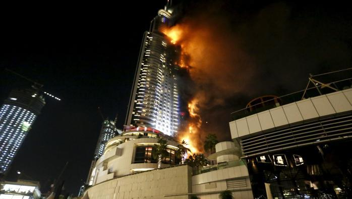 Incendio a Dubai (Video)