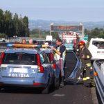 Incidente Asse Attrezzato Chieti-Pescara oggi 3 dicembre: due morti in autostrada