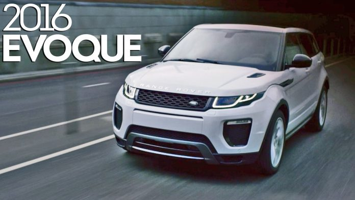 Nuova Range Rover Evoque 2016: Video Youtube