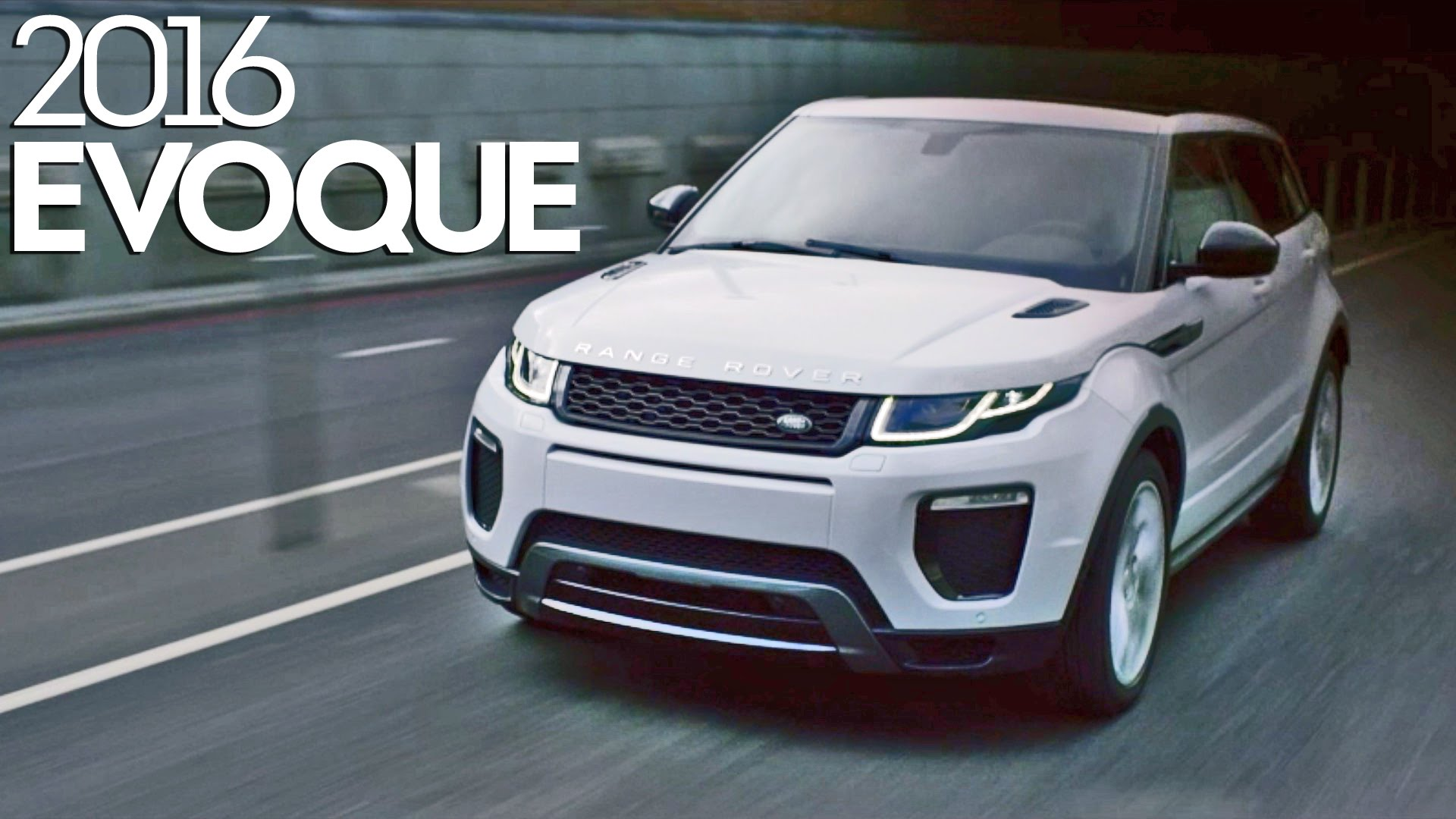 Nuova Range Rover Evoque 2016: Video Youtube