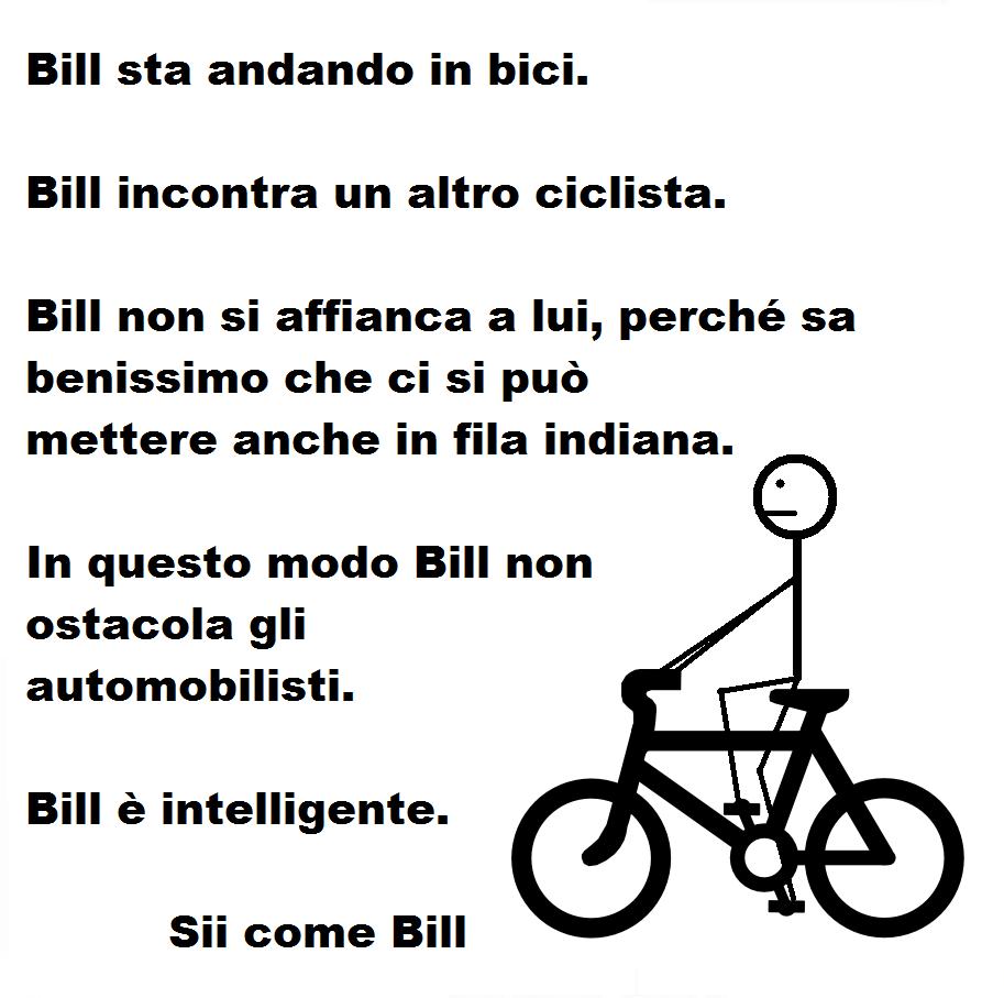 Sii come Bill
