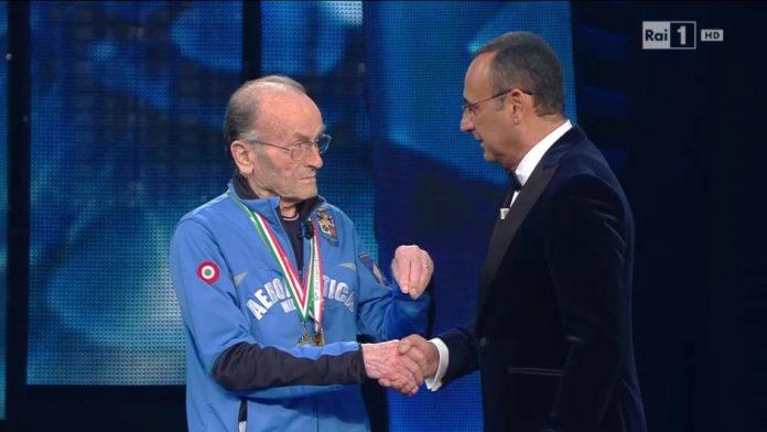 Giuseppe Ottaviani a Sanremo 2016 (Video 9 febbraio)