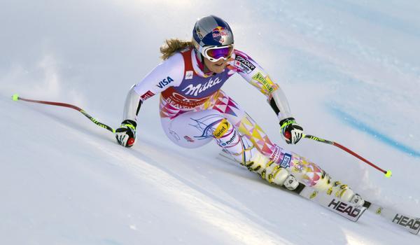 Lindsey Vonn cade a La Thuile, Vince Lara Gut (Video)