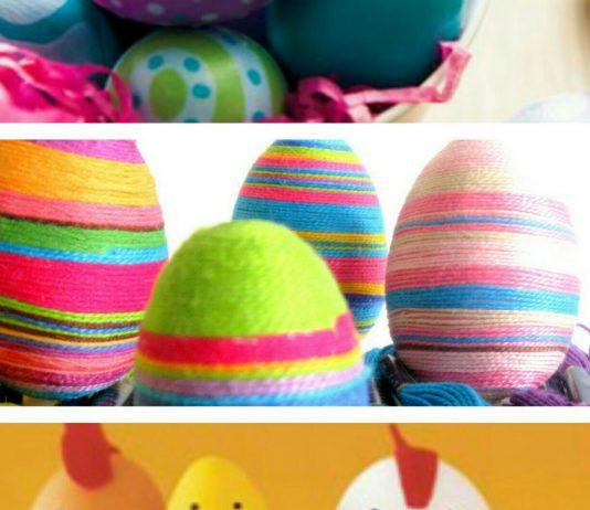Uova di Pasqua 2016 Decorate Fai da Te: ecco come farle in casa