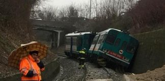 Treno Deragliato Oggi, a Biella per il Maltempo