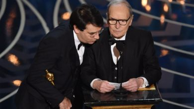 Photo of Ennio Morricone Video Discorso Oscar 2016