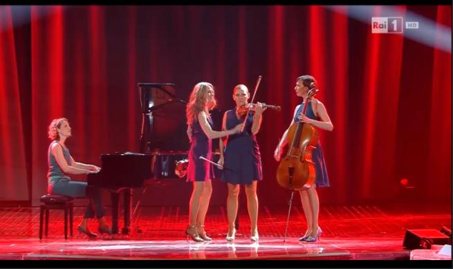 Salut Salon, quartetto di musiciste a Sanremo 2016 (Video 10 Febbraio)