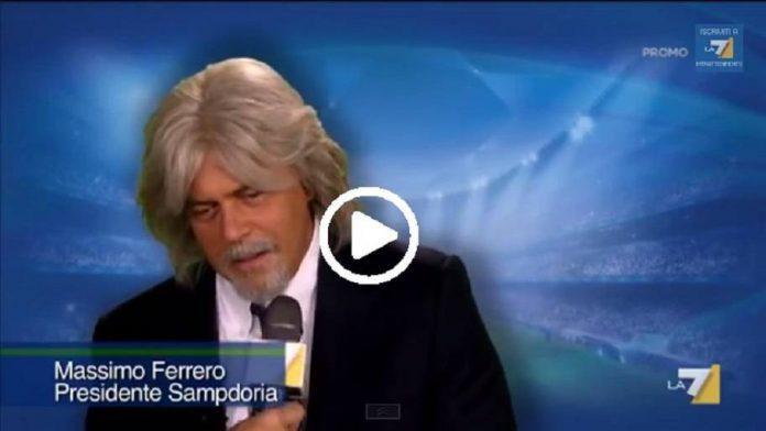 Video - Crozza imita Ferrero e Mancini (26 febbraio 2016)