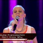 Giulia Franceschini a The Voice: l'ex di Amici nel Team Dolcenera (Video)